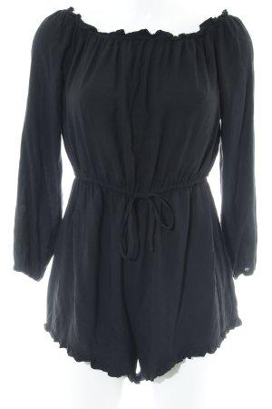 New Look Jumpsuit schwarz Romantik-Look
