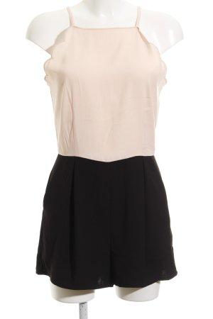 New Look Jumpsuit schwarz-rosé Casual-Look