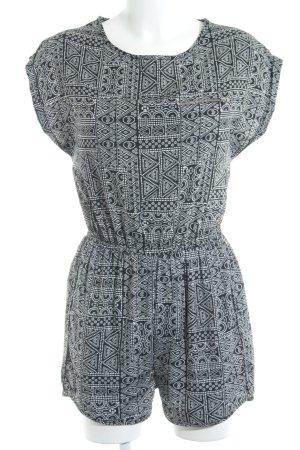 New Look Combinaison noir-blanc motif ethnique style Boho
