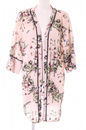New Look Kimono flower pattern simple style