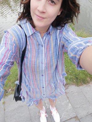 New Look Kleid Hemdkleid Blusenkleid Volants 10