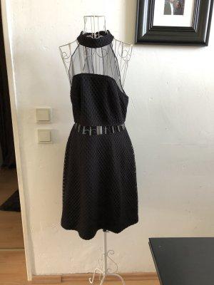 New Look Kleid, transparent schwarz kleines schwarze 40
