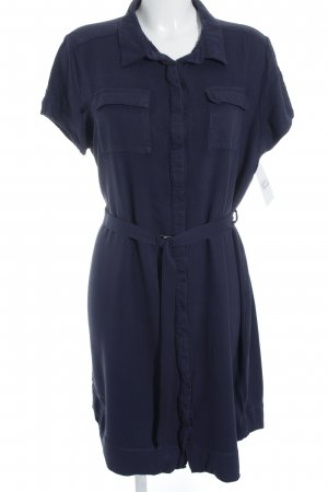 New Look Kurzarmkleid dunkelblau schlichter Stil