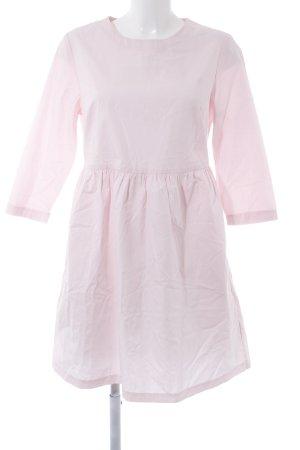 New Look Langarmkleid rosé Casual-Look