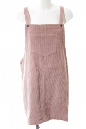 New Look Overgooier overall rok stoffig roze casual uitstraling