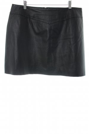 New Look Leather Skirt black casual look