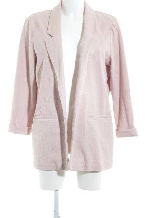 New Look Blazer largo rosa empolvado moteado look casual