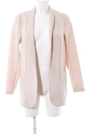 New Look Blazer largo rosa empolvado estilo sencillo