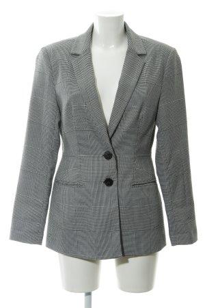 New Look Long-Blazer schwarz-weiß Glencheckmuster klassischer Stil