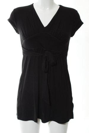 New Look Camicia lunga nero stile casual