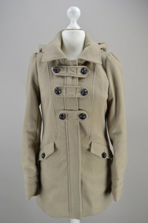 New Look Duffel Coat light brown-black mixture fibre