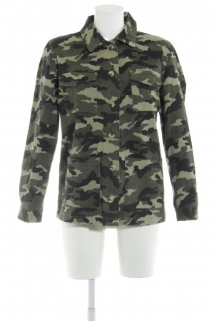 New Look Military Jacket camouflage pattern casual look
