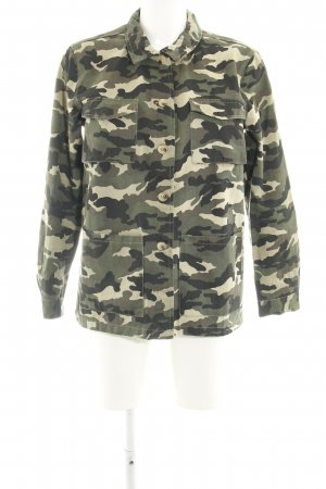 New Look Militaryjacke Camouflagemuster Casual-Look