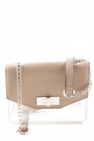 New Look Mini Bag beige transparent look