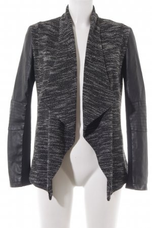 New Look Chaqueta para exteriores negro-blanco look casual