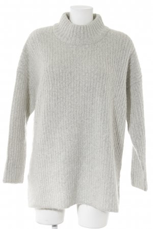 New Look Oversized Pullover hellgrau Casual-Look