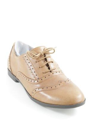 New Look Zapatos estilo Oxford marrón claro-marrón oscuro look «Brit»