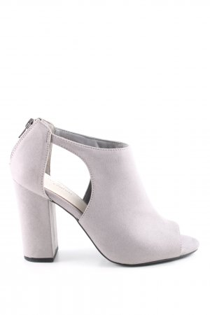 New Look Peep Toe Pumps grey business style