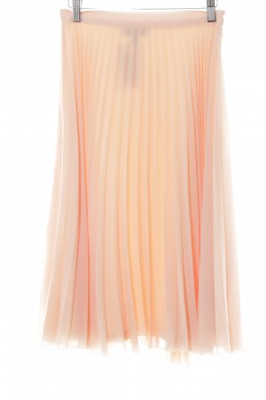 New Look Petite Faltenrock apricot Elegant