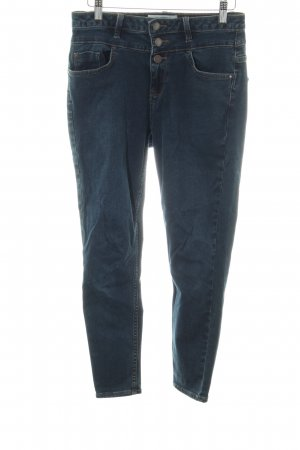 New Look Petite Hoge taille jeans blauw casual uitstraling