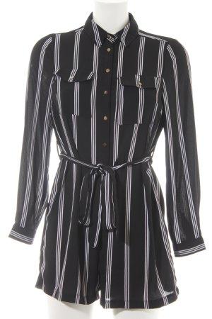 New Look Petite Combinaison noir-blanc motif rayé style décontracté