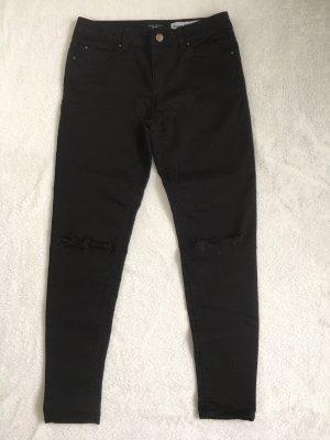 Peg Top Trousers black