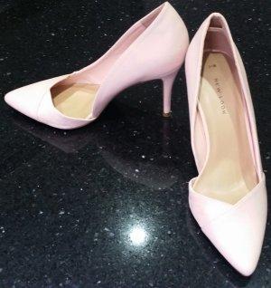 New Look Pumps Highheels rose rosa nude 38 neu