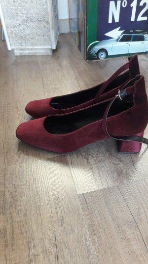 New Look Pumps Kittenheels Samt Velvet Riemchen Mary Jane 40