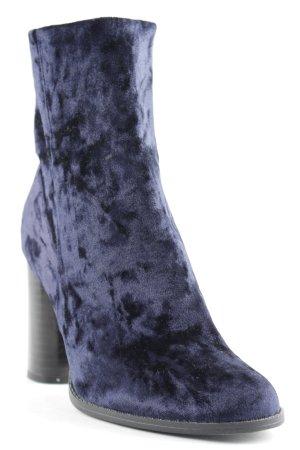 New Look Reißverschluss-Stiefeletten dunkelblau-schwarz Elegant