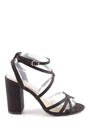 New Look Riemchen-Sandaletten schwarz Party-Look