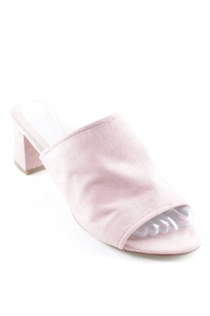 New Look Strapped High-Heeled Sandals pink casual look
