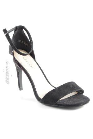 New Look Riemchen-Sandaletten schwarz Elegant