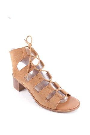New Look Romeinse sandalen camel Boho uitstraling
