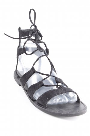 New Look Römer-Sandalen schwarz Boho-Look