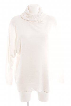New Look Turtleneck Sweater natural white casual look