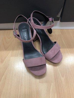 New Look Sandalo con plateau malva