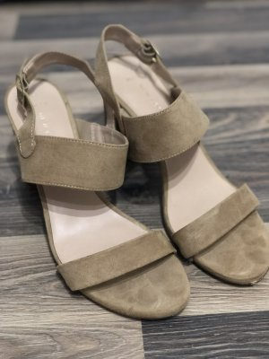 New Look Strapped Sandals sand brown leather