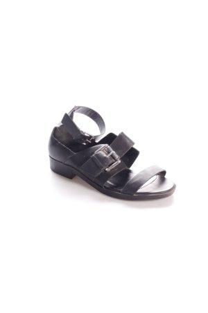 New Look Sandalen schwarz Schnallenelemente