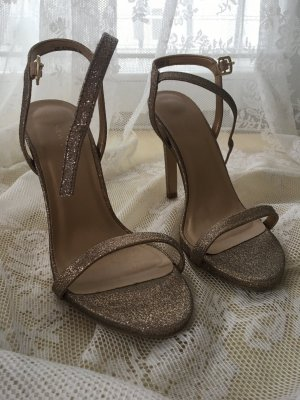 New Look High Heel Sandal gold-colored-oatmeal