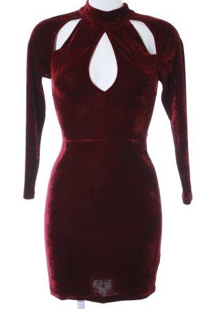New Look Tube Dress purple elegant