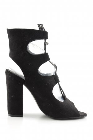 New Look Lace-up Pumps black party style