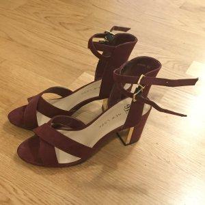 New Look Tacco alto bordeaux-marrone-rosso