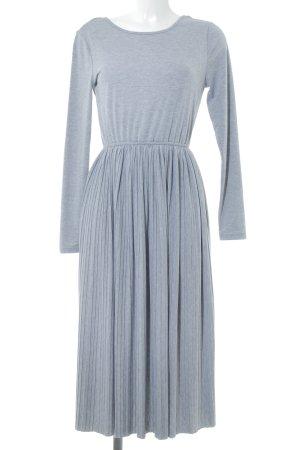 New Look Shirtkleid grau Casual-Look
