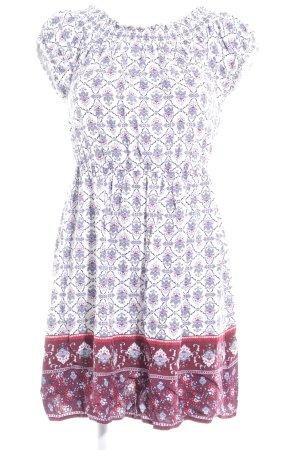 New Look Shirtkleid Ornamentenmuster Boho-Look