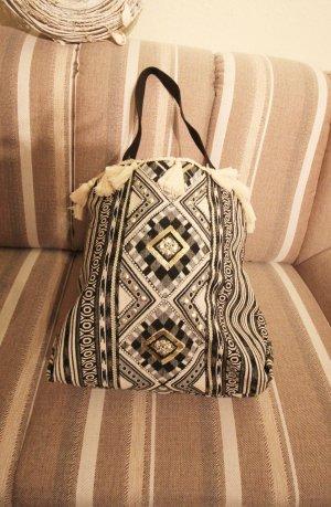 New Look Shopper Bag Tasche Fransen Pailletten Sommer