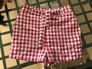 New Look Shorts Vichy Karo kariert Highwaist Hotpants 38