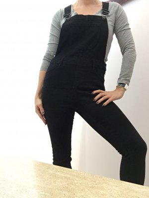 New Look, Skinny Latzhose, Gr. 36, 7/8 Länge