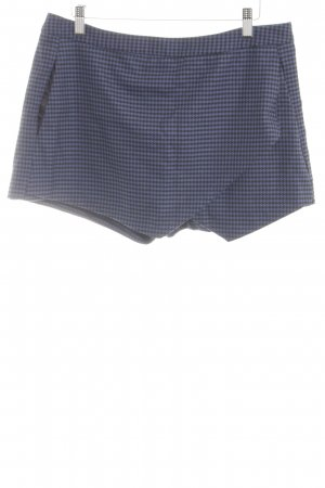 New Look Skorts blue-black check pattern casual look