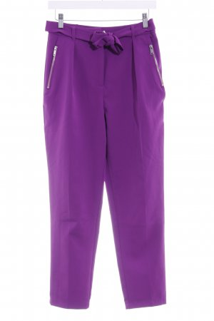 New Look Stoffhose lila Casual-Look