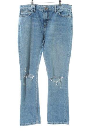 New Look Straight-Leg Jeans blau Casual-Look